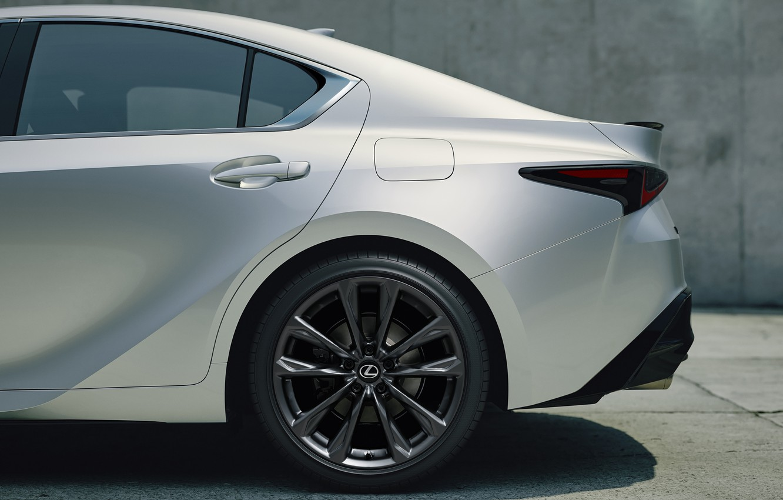 Photo wallpaper car, Lexus, sport, exterior, F sport, 2021