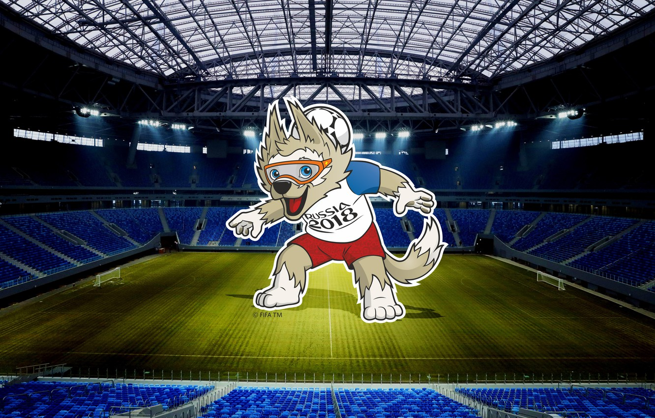 Wallpaper The Ball Sport Football Saint Petersburg Wolf Russia Zenit 2018 Stadium Fifa Fifa Spb St Petersburg Saint Petersburg World Cup 2018 Mascot Images For Desktop Section Sport Download