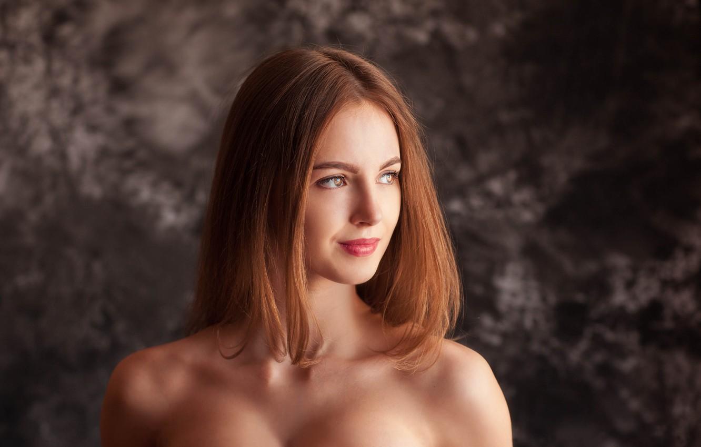 Photo wallpaper look, Girl, Alexey Gilev