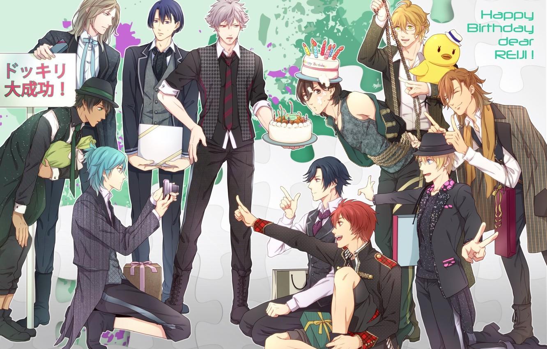 Photo wallpaper anime, art, guys, Singing Prince, Uta no prince