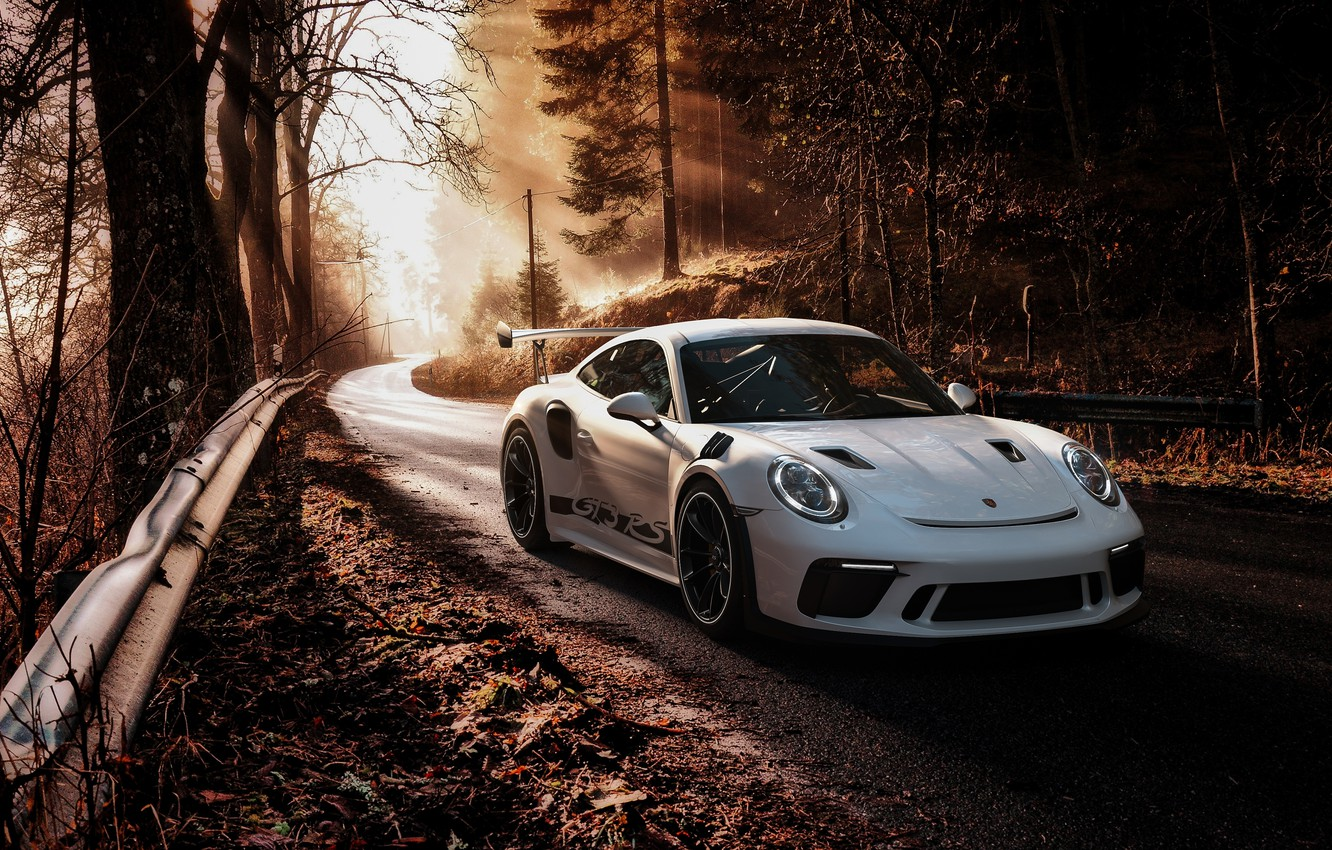 Photo wallpaper 911, Porsche, GT3, 2019, Porsche 911 GT3 RS 2019
