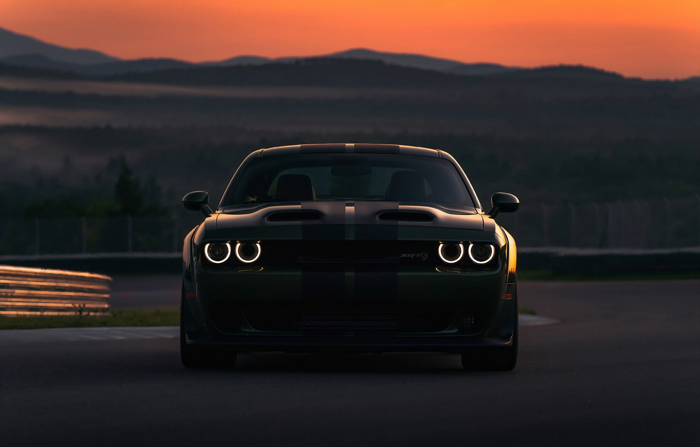 Photo wallpaper Dodge, Charger, Hellcat, SRT, 2019, Dodge Charger SRT Hellcat 2019