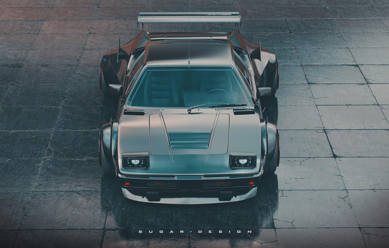 Photo wallpaper BMW, Machine, Render, Supercar, Rendering, Sports car, BMW M1, Transport & Vehicles, by Sugar Chow, …