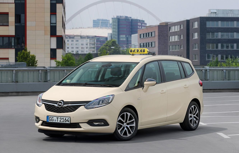 Photo wallpaper photo, Opel, Car, Zafira, Van, 2016-19, Taxi (S)