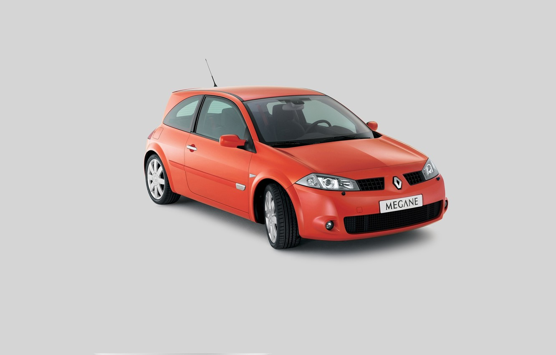 Photo wallpaper megane, sport car, megane rs