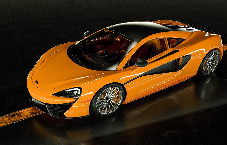 Photo wallpaper McLaren, supercar, 570S