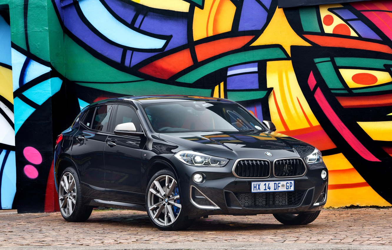 Photo wallpaper BMW, X2, 2019, M35i