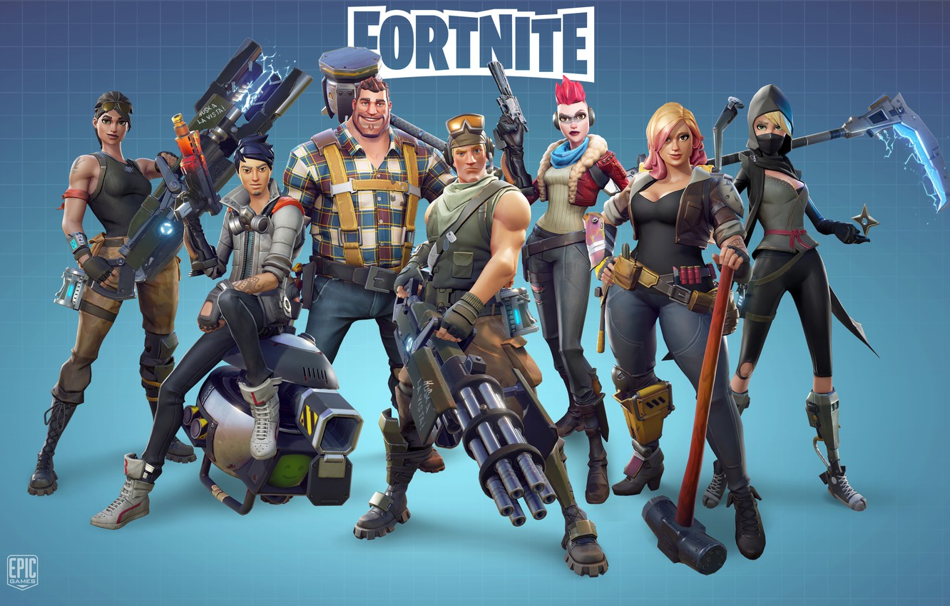 photo wallpaper game epic games fortnite - section fortnite
