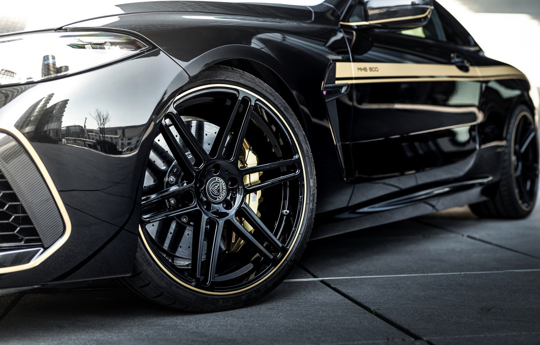 Photo wallpaper black, tuning, coupe, wheel, BMW, disk, Manhart, 2020, BMW M8, 4.4 L., two-door, V8 Biturbo, …