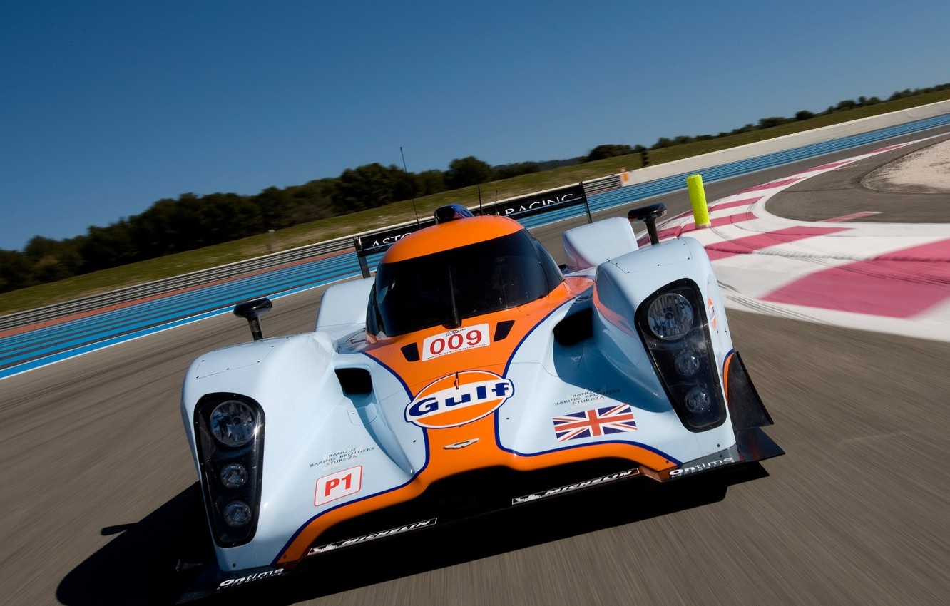 Photo wallpaper Aston Martin, Speed, Lights, 2011, LMP1, 24 Hours of Le Mans, 24 hours of Le …