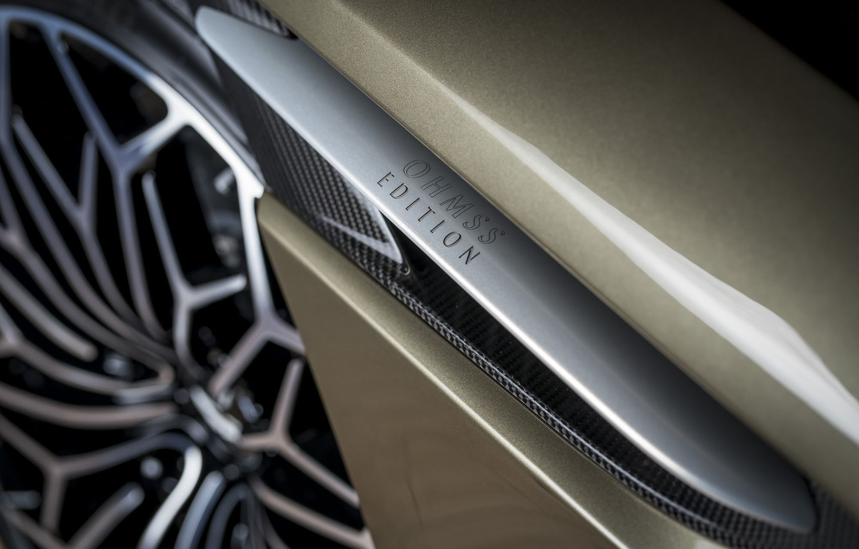 Photo wallpaper Aston Martin, DBS, wheel, Superleggera, 2019, OHMSS, OHMSS Edition