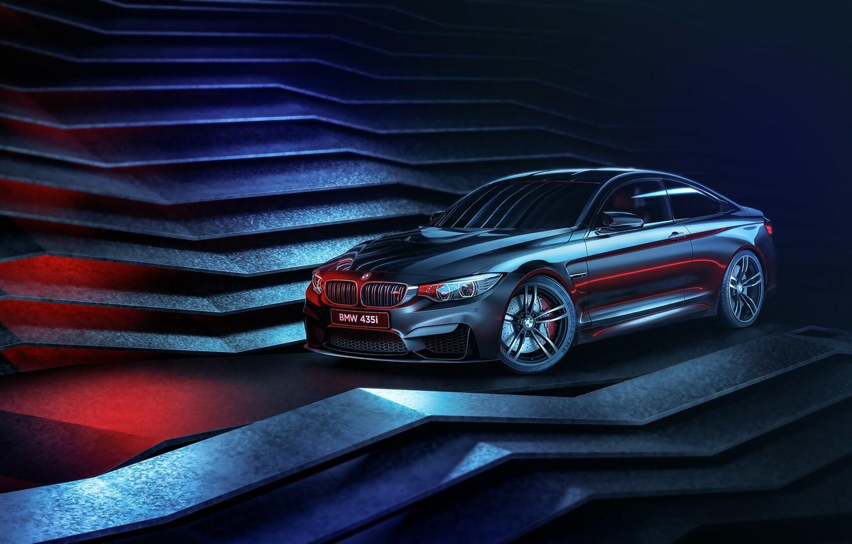 Photo wallpaper BMW, Machine, Style, Car, Render, 435i, Transport & Vehicles, Mohamed Khalil, BMW 435i, by Mohamed …