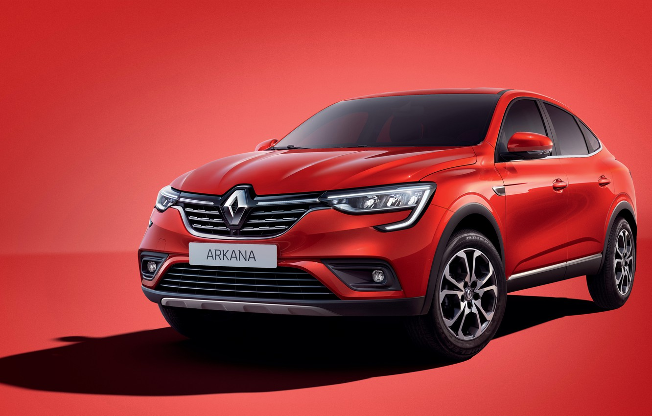 Photo wallpaper Renault, crossover, 2019, Back