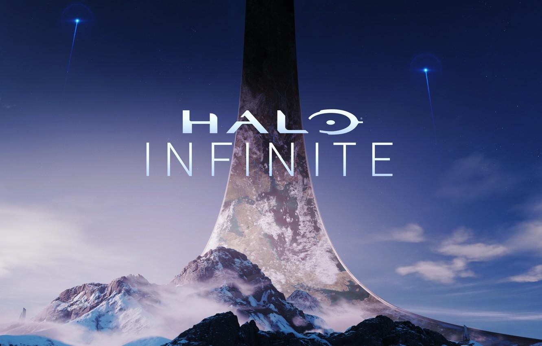 Photo wallpaper Halo, logo, Infinite, 343 Industries, E3 2018, Halo: Infinite