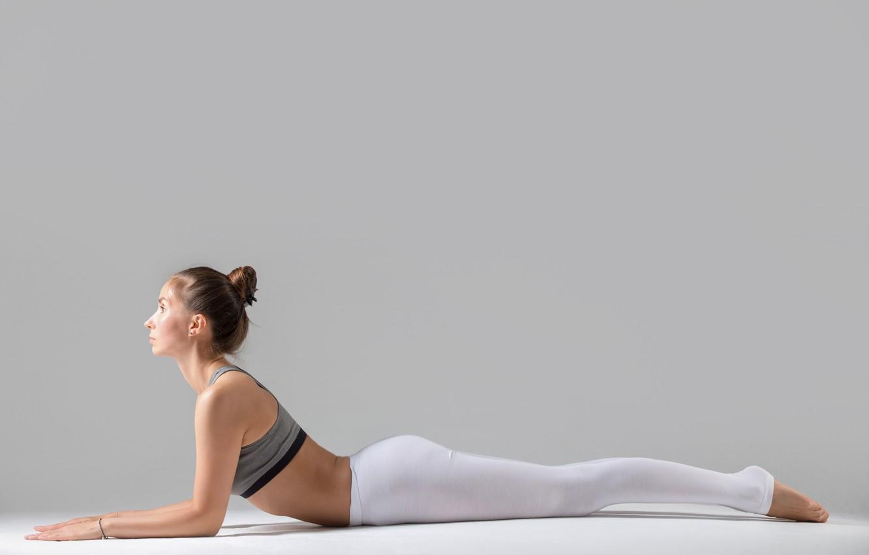 Photo wallpaper pose, workout, yoga