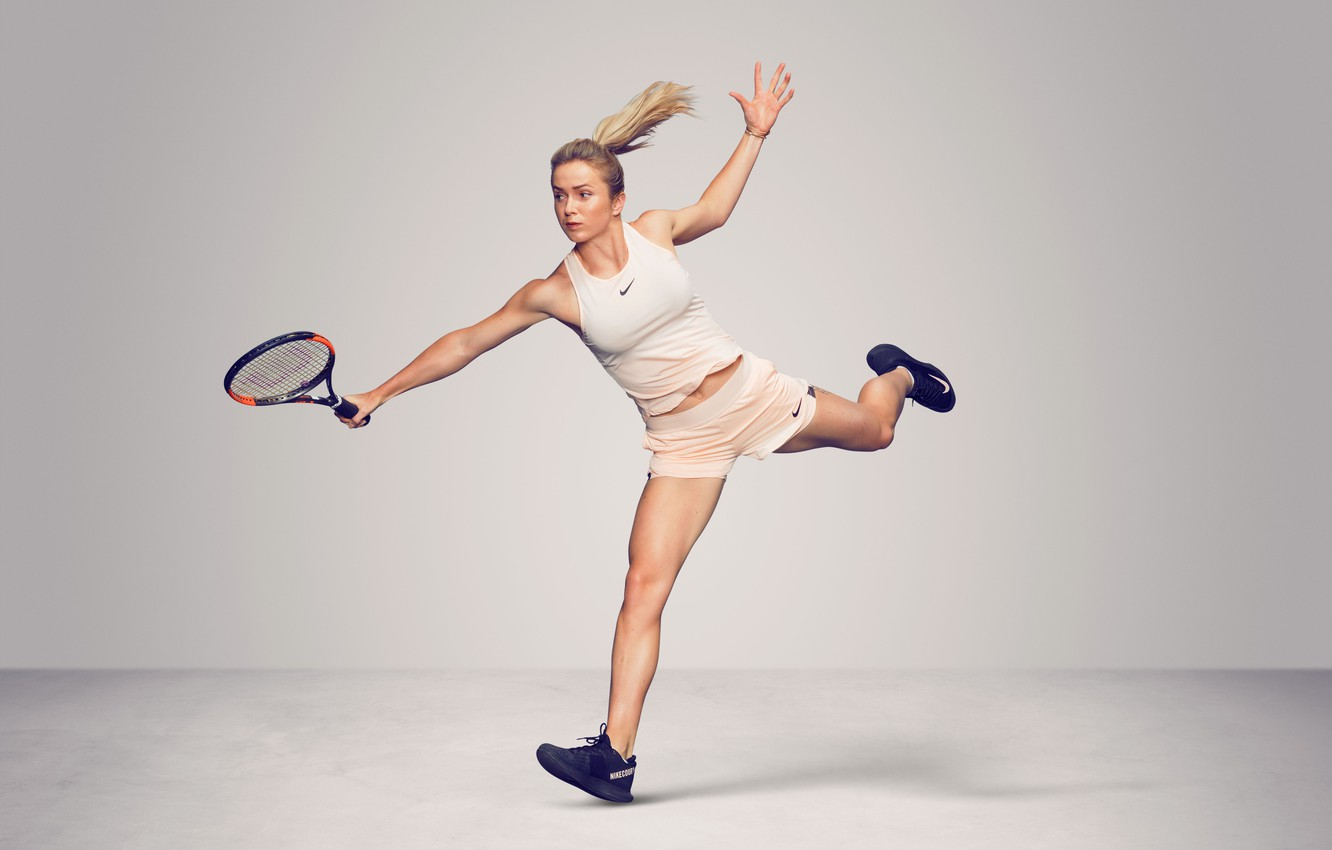 Photo wallpaper Women, Ukraine, Sport, Tennis, Elina, WTA, Ukrainian, Elina Svitolina, Svitolina