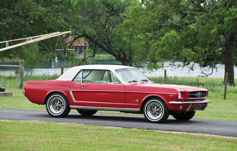 Photo wallpaper Ford Mustang, 1964, Hardtop, Classic Car
