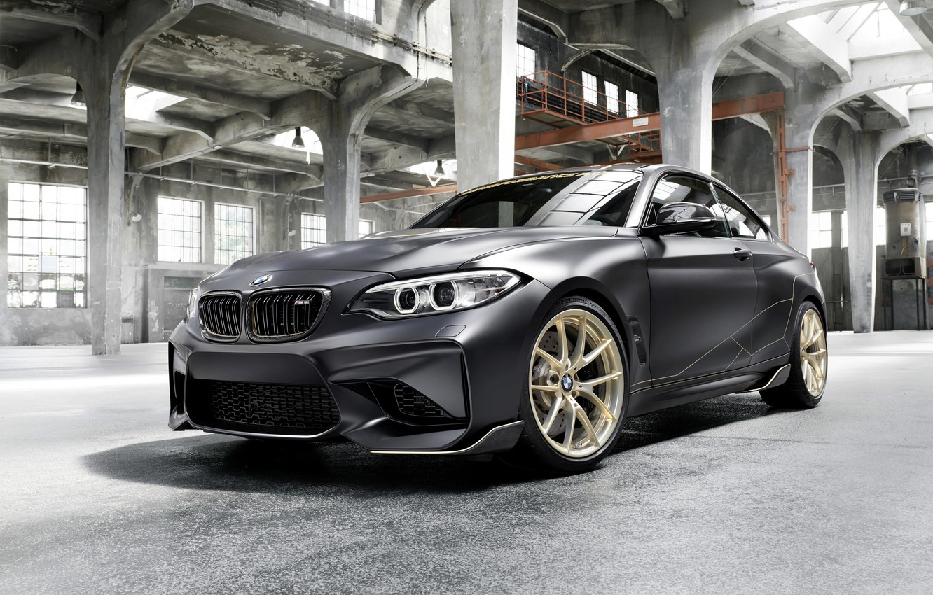 Photo wallpaper BMW, the room, 2018, F87, M2, M2 M Performance Parts Concept