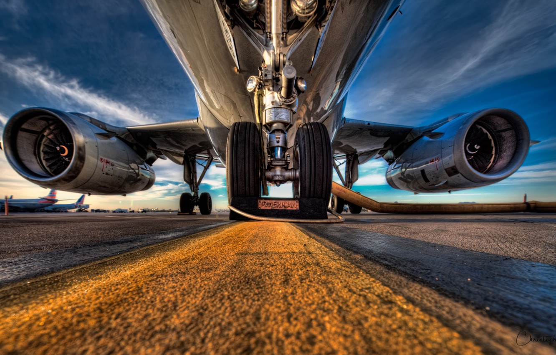 Photo wallpaper airport, the plane, shaxi