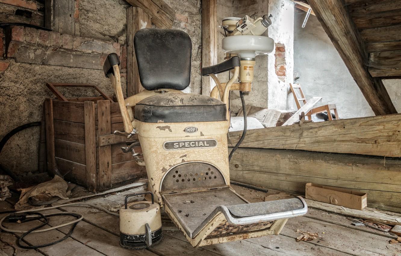 Photo wallpaper chair, hospital, office