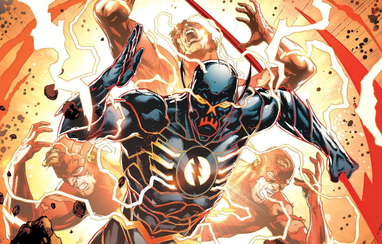 Wallpaper Zipper Comic Comics Suit The Flash Dc Comics Flash Uniform Dc Comics The God Of Death Flash God Of Death Speedster Black Racer Black Racer Images For Desktop Section Fantastika