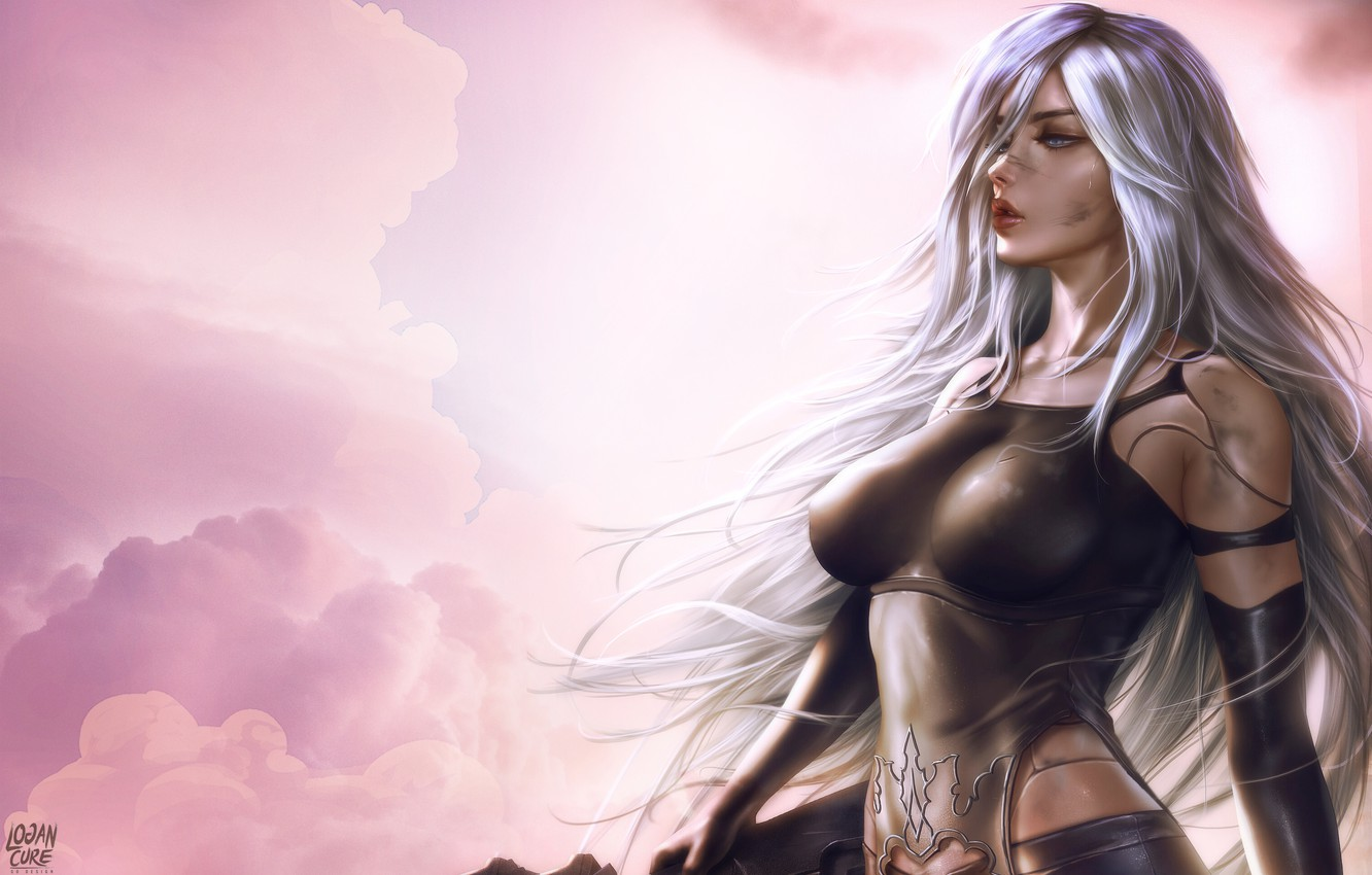 Wallpaper Girl Figure Android Art Beauty Nier Figure Beautiful Illustration Characters Automata Game Art Nier Nier Automata Nier Automata Yorha Images For Desktop Section Igry Download