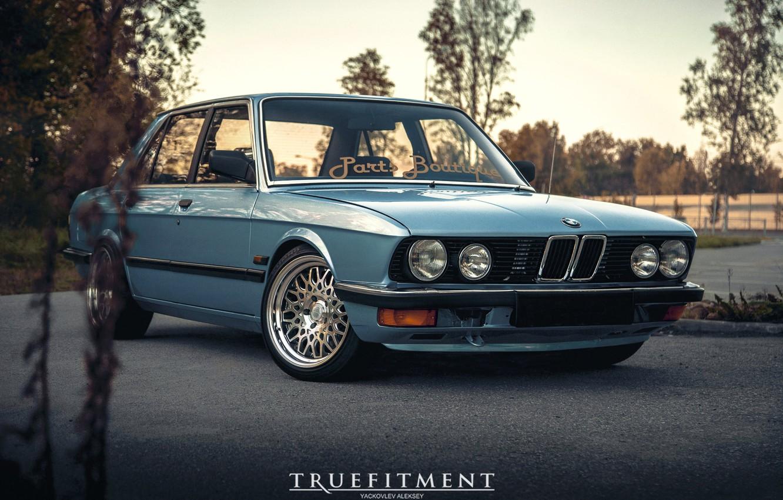 Photo wallpaper BMW, E28, 5-Series