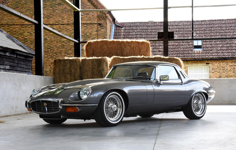Photo wallpaper sportcar, V12, Jaguar E-Type