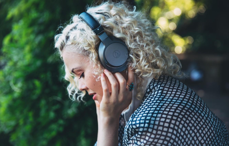 Photo wallpaper headphones, Bluetooth, Audio-Technica, Wireless headphones, Bluetooth headset, Audio-Technica ATH-AR5BT, premium wireless Bluetooth headphones, Hi-Res Audio