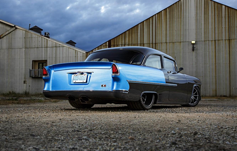 Photo wallpaper Car, Custom, Chevrolet 210