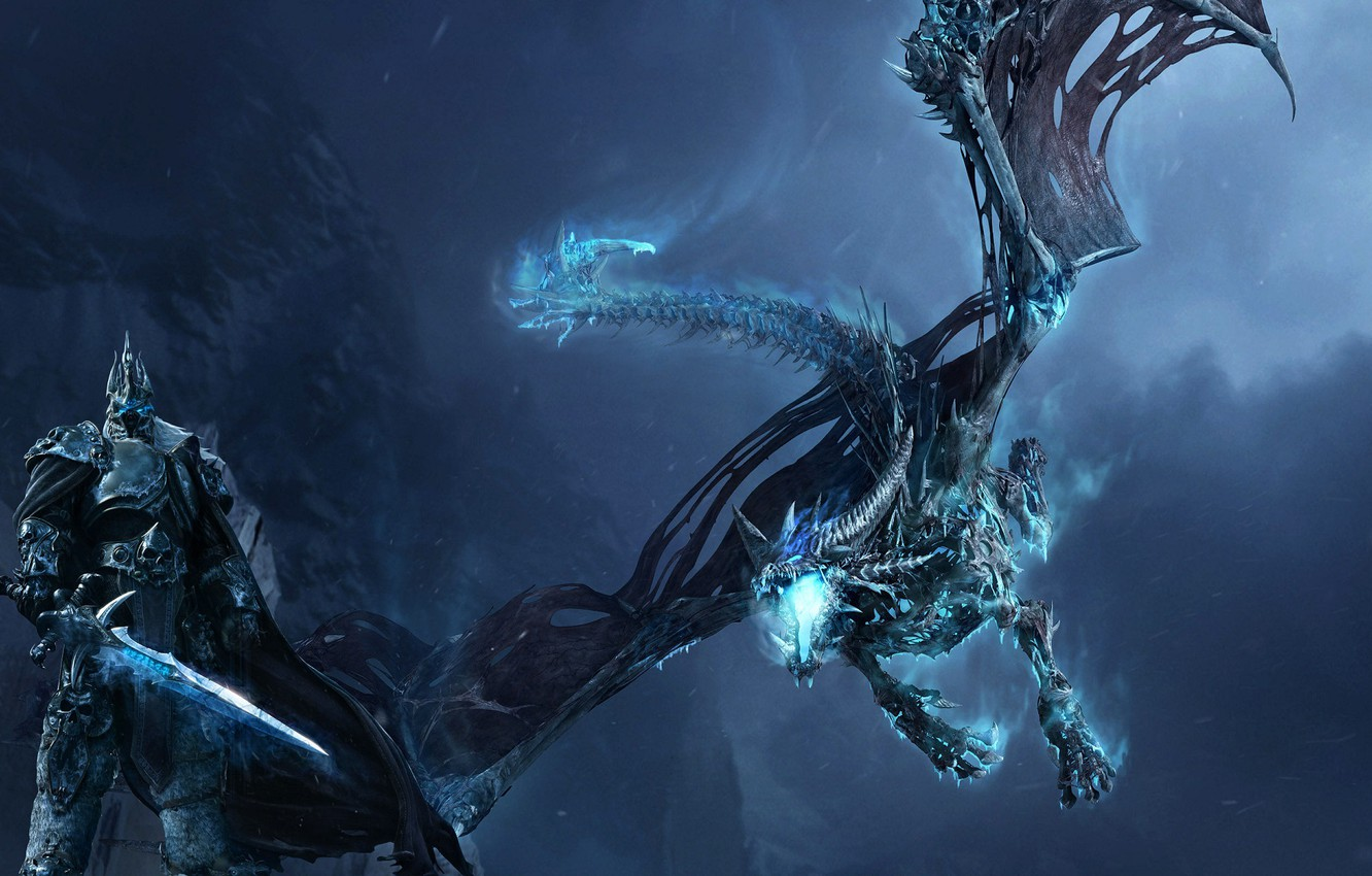 Wallpaper Wrath Of The Lich King World Of Warcraft World Of