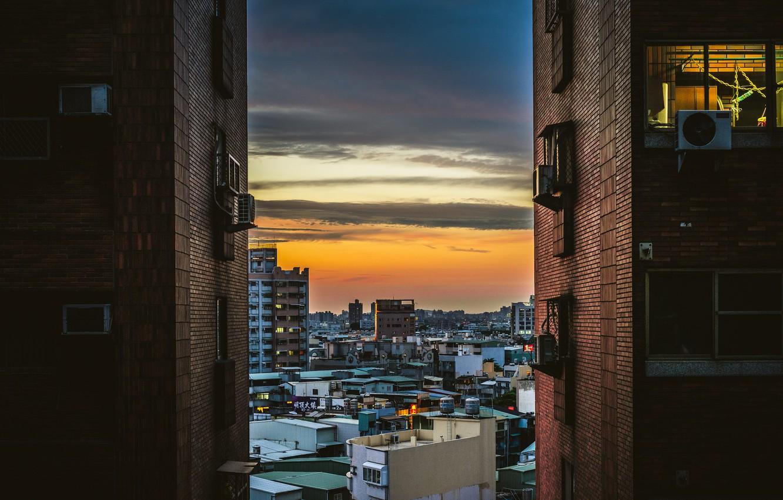 Photo wallpaper the city, Taiwan, Kaohsiung