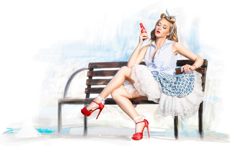 Wallpaper Girl Retro Legs Pin Up Images For Desktop Section