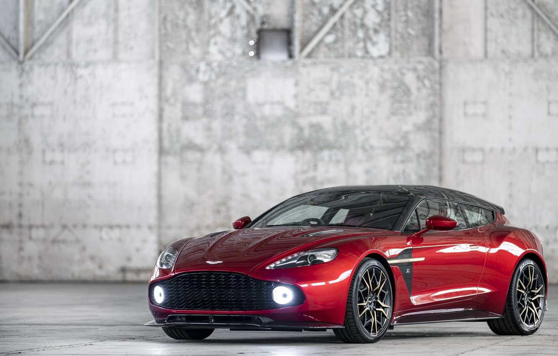 Photo wallpaper Aston Martin, 2018, Vanquish, Zagato Shooting Brake