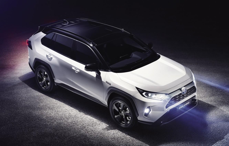 Photo wallpaper Toyota, Hybrid, RAV4, 2019, Toyota RAV4 Hybrid