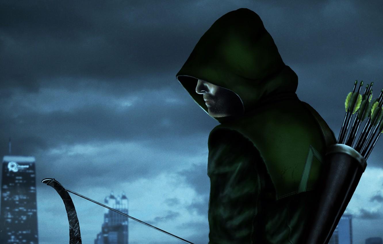 Photo wallpaper Comics, Green Arrow, Arrow, Oliver Queen