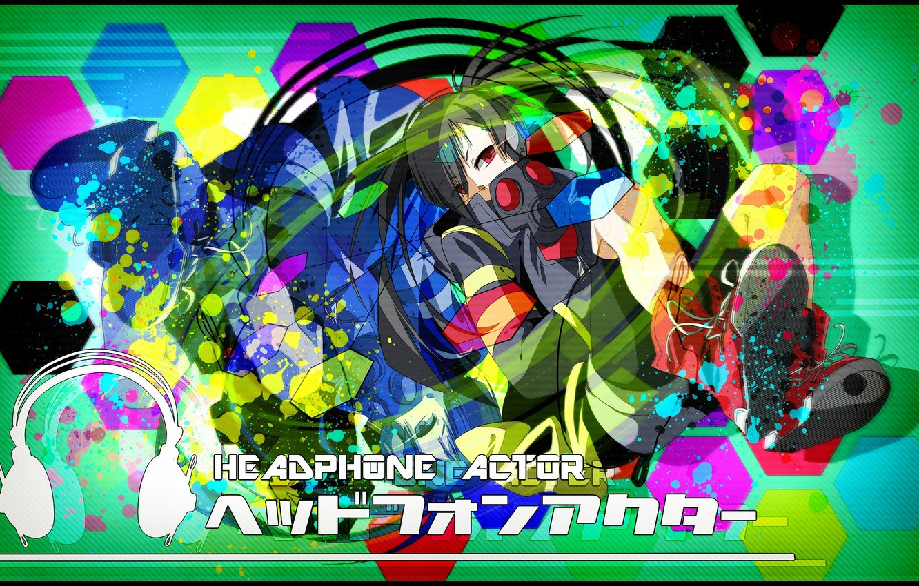 Photo wallpaper look, background, anime, Kagerou Project