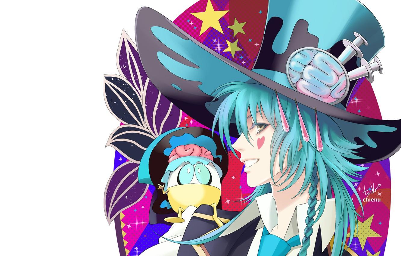 Photo wallpaper hat, guy, Dramatical Murder, Dramatic murder, Aoba, by chienu