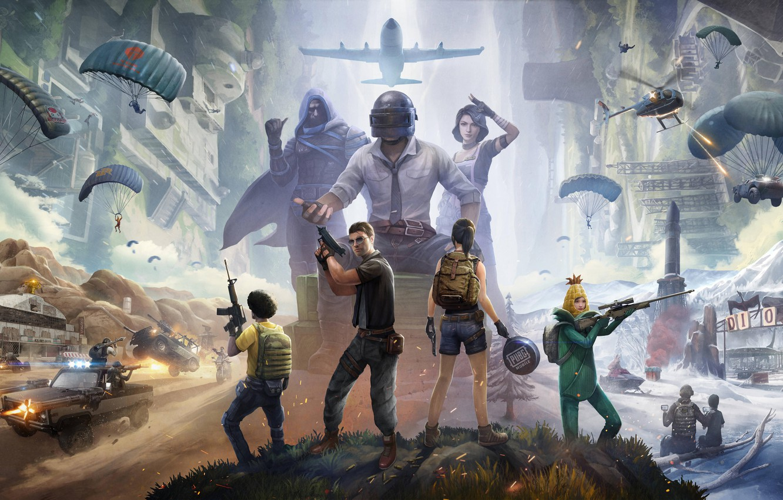 Wallpaper 2020 Playerunknown S Battlegrounds Pubg Corporation