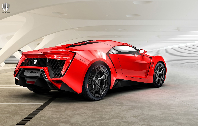 Photo wallpaper Red, Machine, Supercar, Rendering, Concept Art, Sports car, Lykan, Game Art, Transport & Vehicles, Benoit …