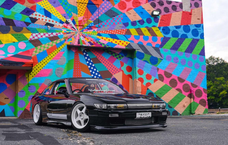 Photo wallpaper Silvia, Nissan, Tuning, S13, JDM