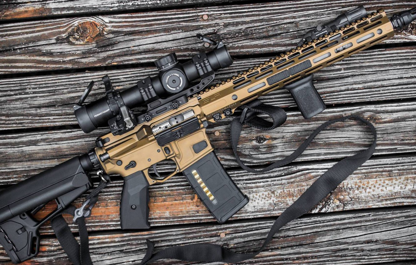 Photo wallpaper rendering, weapons, rifle, weapon, custom, ar-15, assault rifle, assault Rifle, ar-15, ar 15, ar 15
