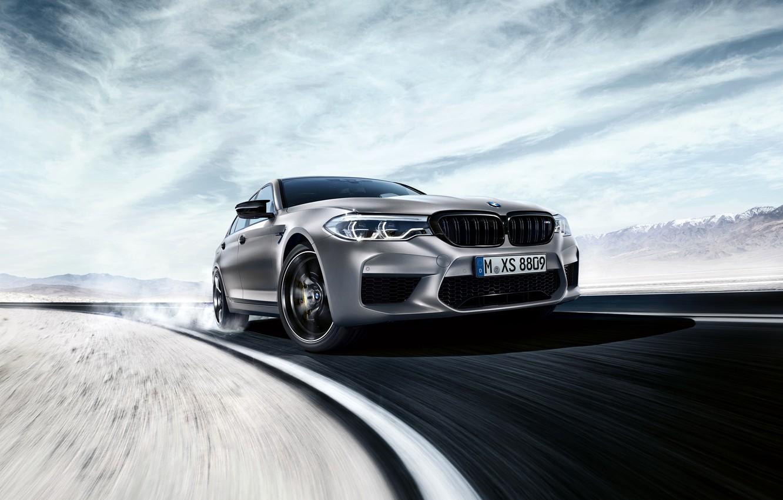 Photo wallpaper turn, BMW, 2018, M5, V8, F90, M5 Competition
