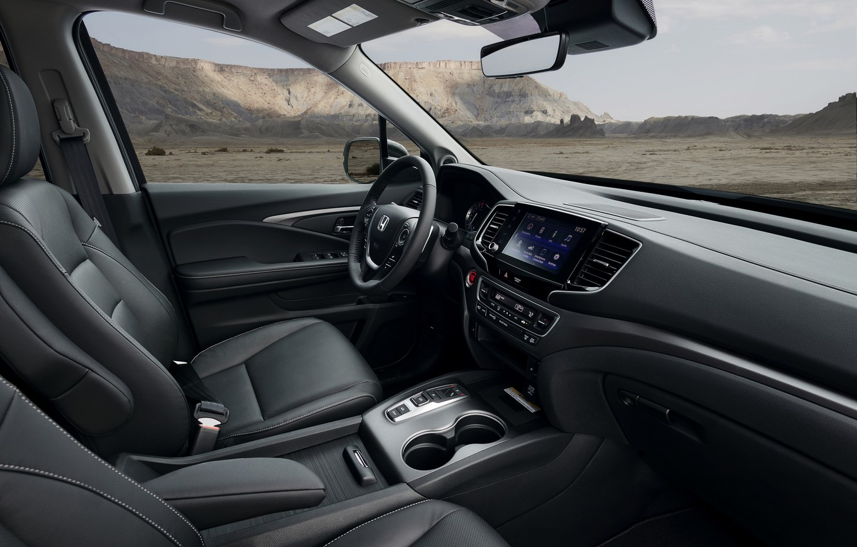 Photo wallpaper interior, Honda, pickup, 2020, Ridgeline, 2021
