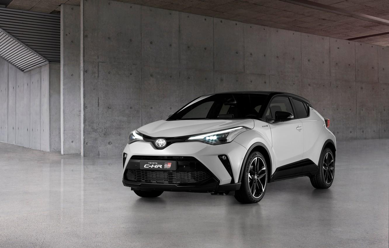 Photo wallpaper Toyota, EU-spec, C-HR, 2020, Hybrid GR Sport