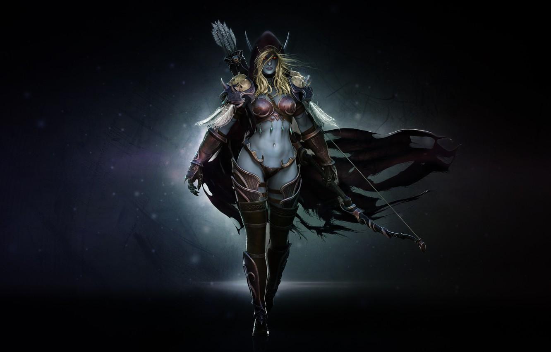 World Of Warcraft Dark Lady Elf Wallpaper My Sims 3 Downloads