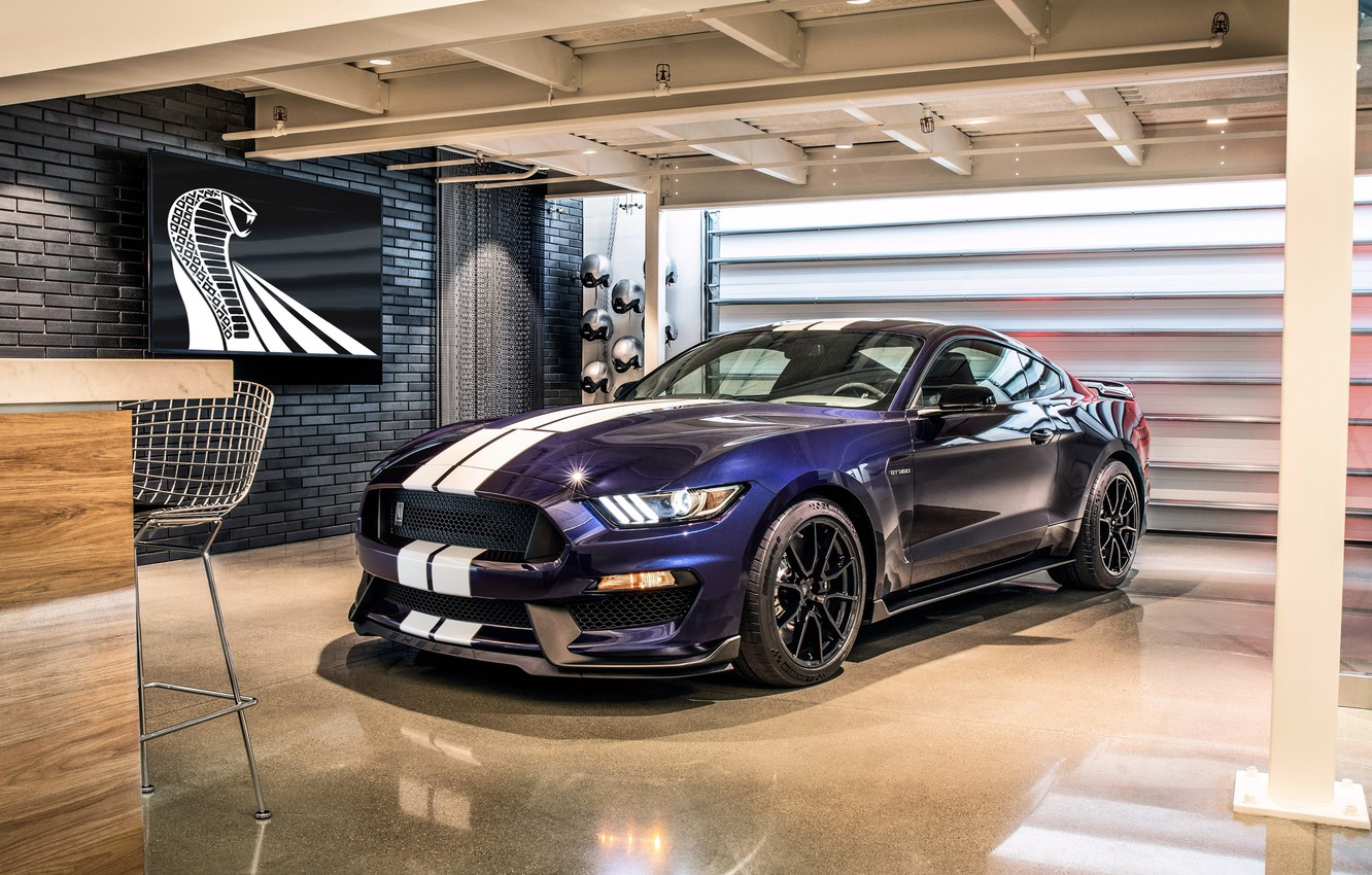 Photo wallpaper Mustang, Ford, Shelby, GT350, 2019