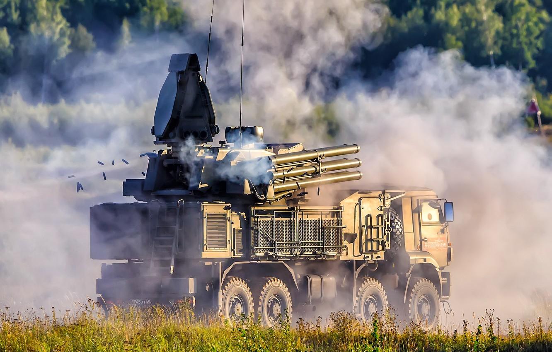 Photo wallpaper Pantsir-S1, Zrpk, anti-aircraft missile and gun complex