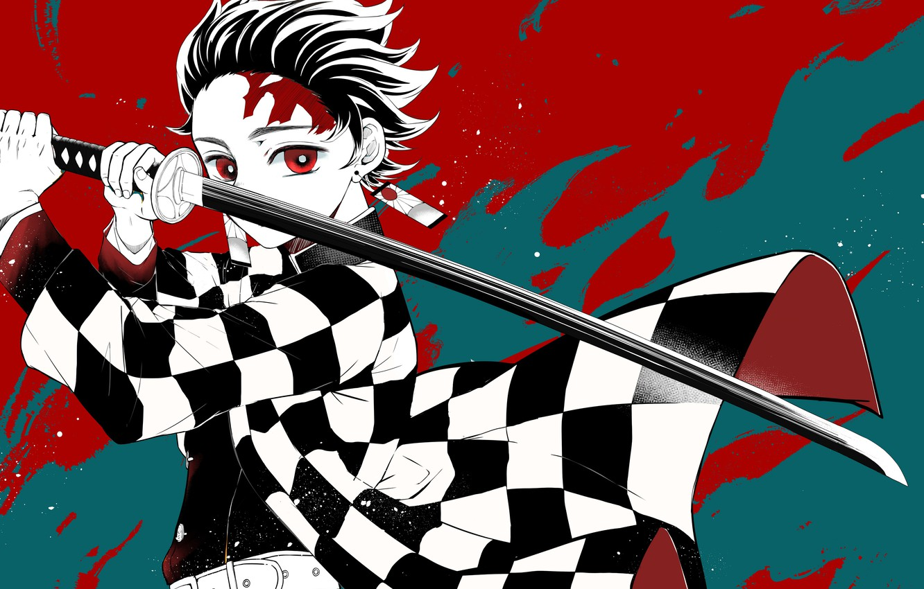 Wallpaper Sword Guy Demon Slayer Kimetsu No Yaiba Images For