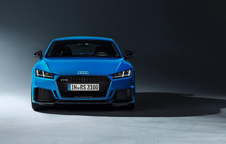 Photo wallpaper machine, design, style, Audi, lights, coupe, TT RS, 2020